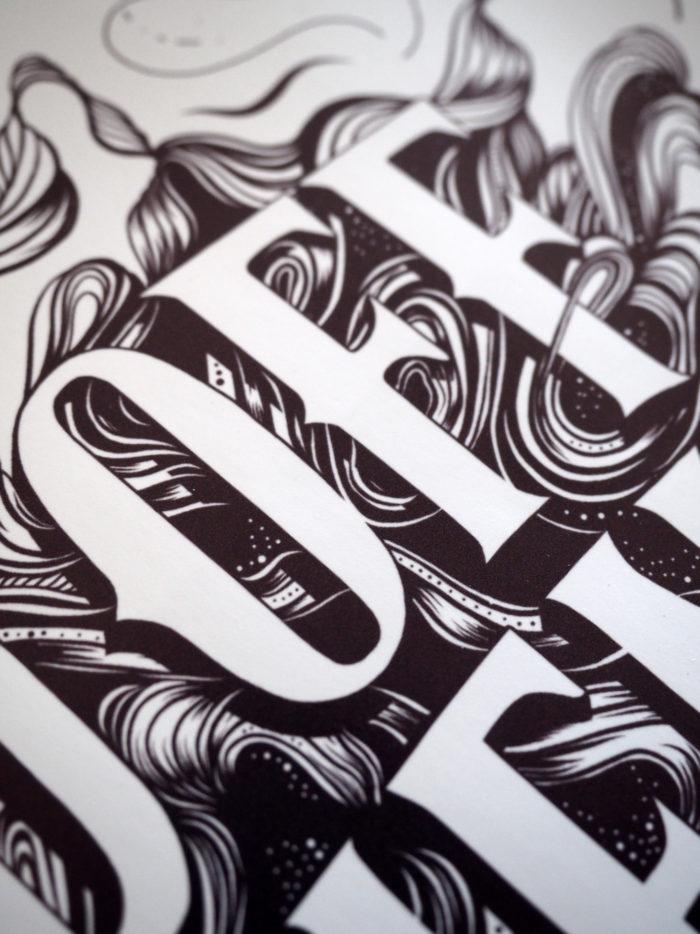 Typographer Alicia McFadzean