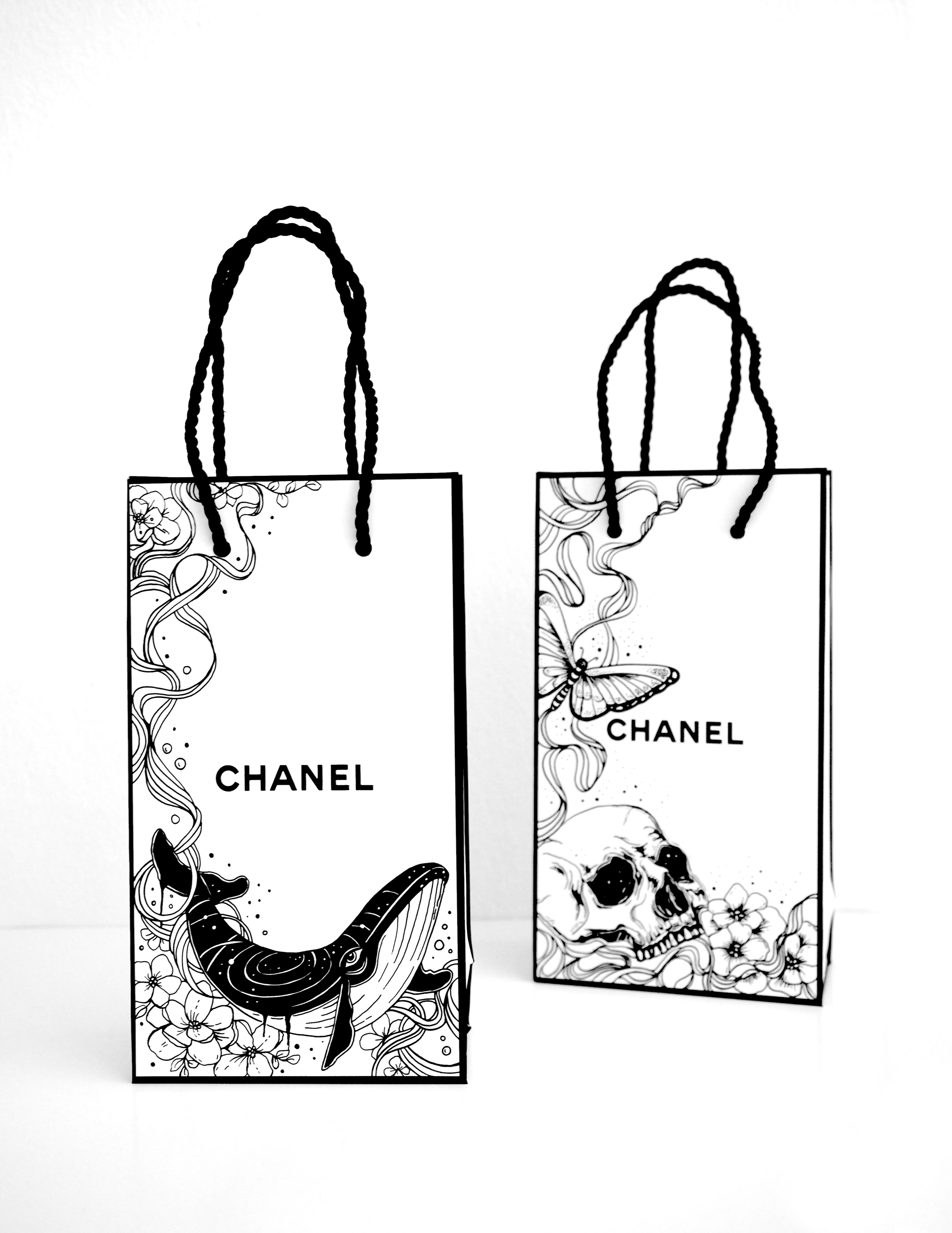 Cheeky x Chanel Bags