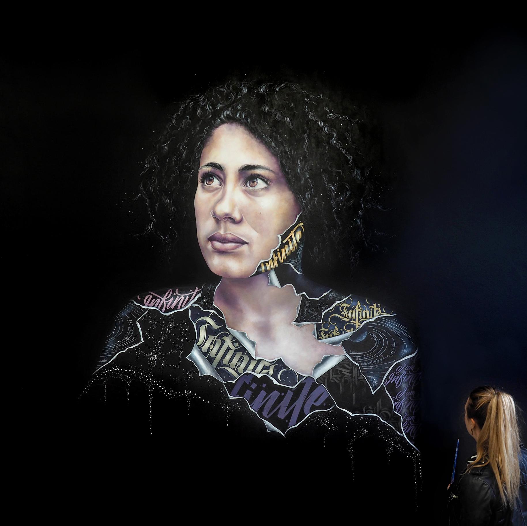 Alicia McFadzean fine art mural