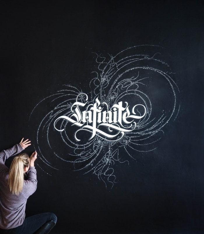 Lemniscate Mural by Alicia McFadzean