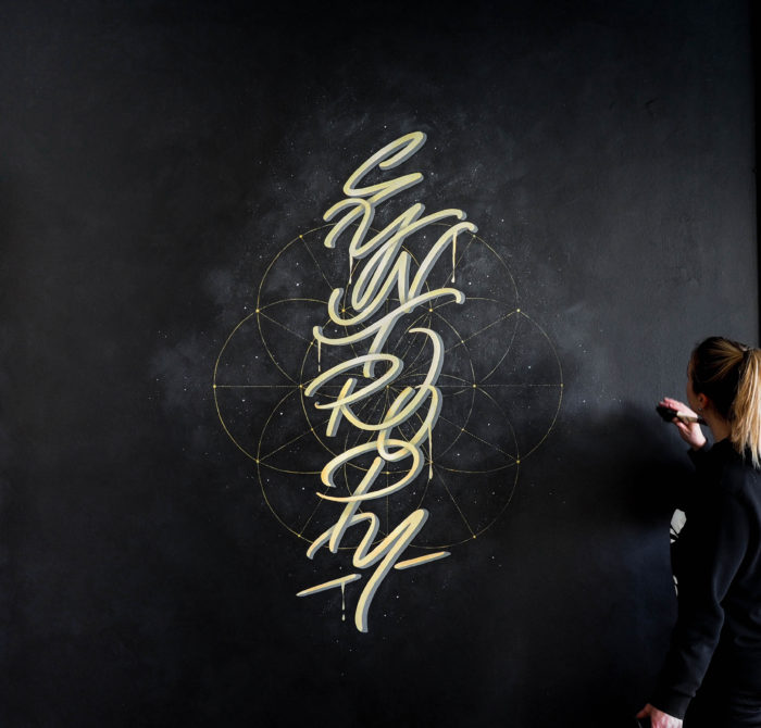 Syntropy typography