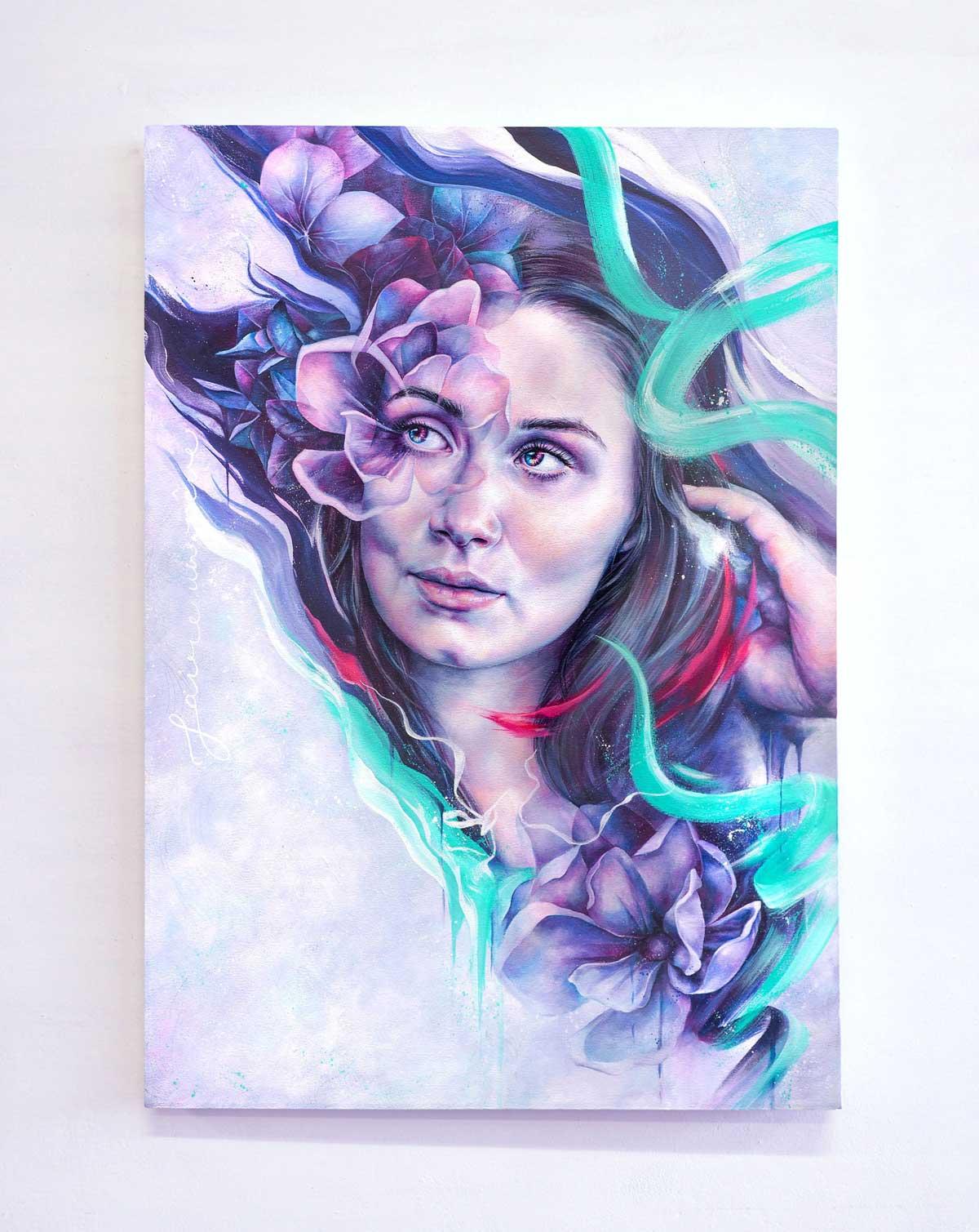 """Alicia McFadzean"" artwork: Faire un Rêve"