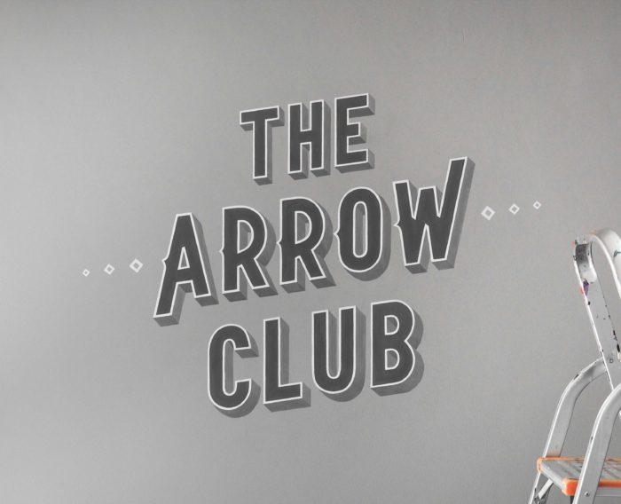 The Arrow Club Mural