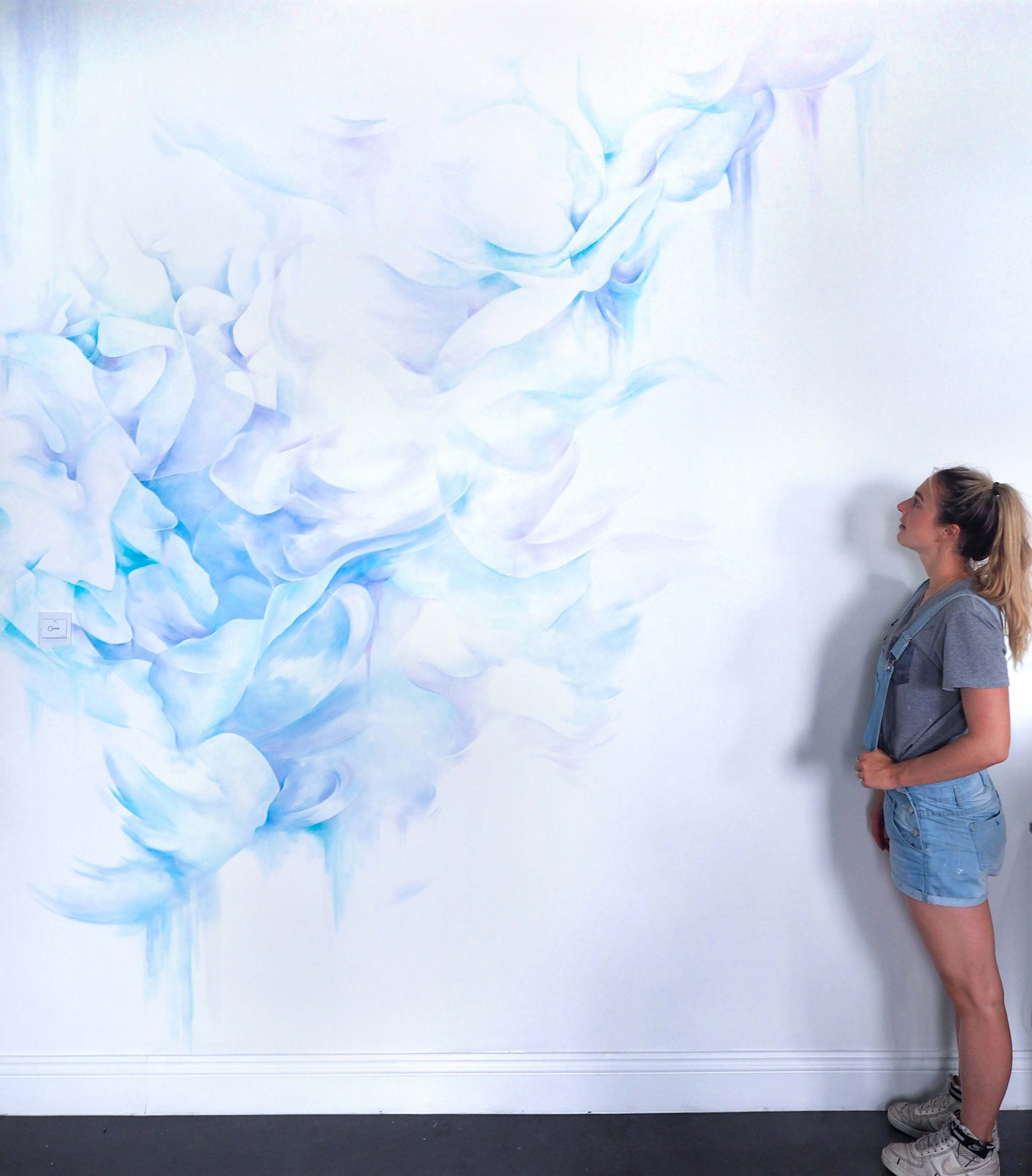 Alicia McFadzean mural painter South Africa