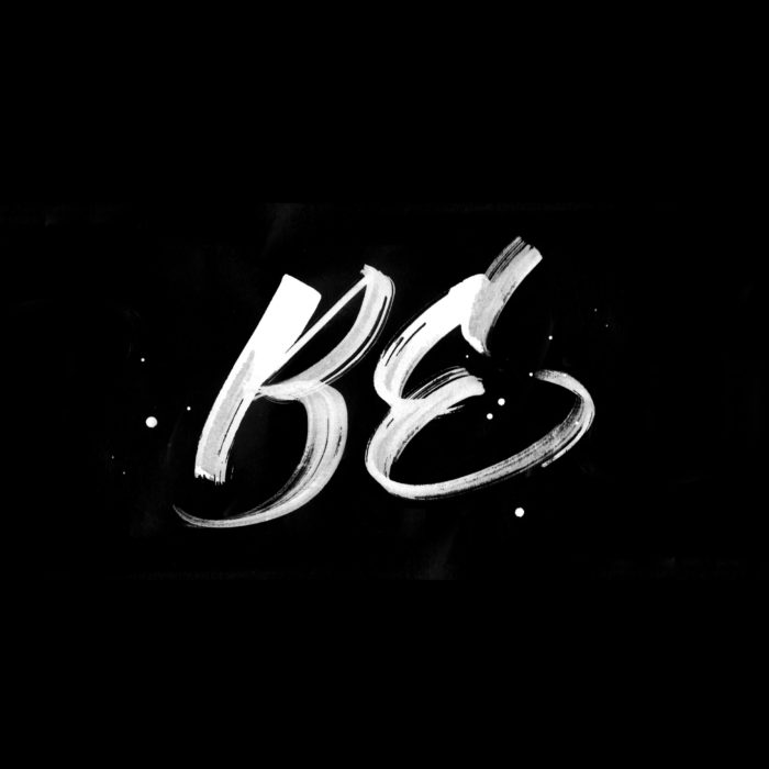 Be | Phlo Album Lettering
