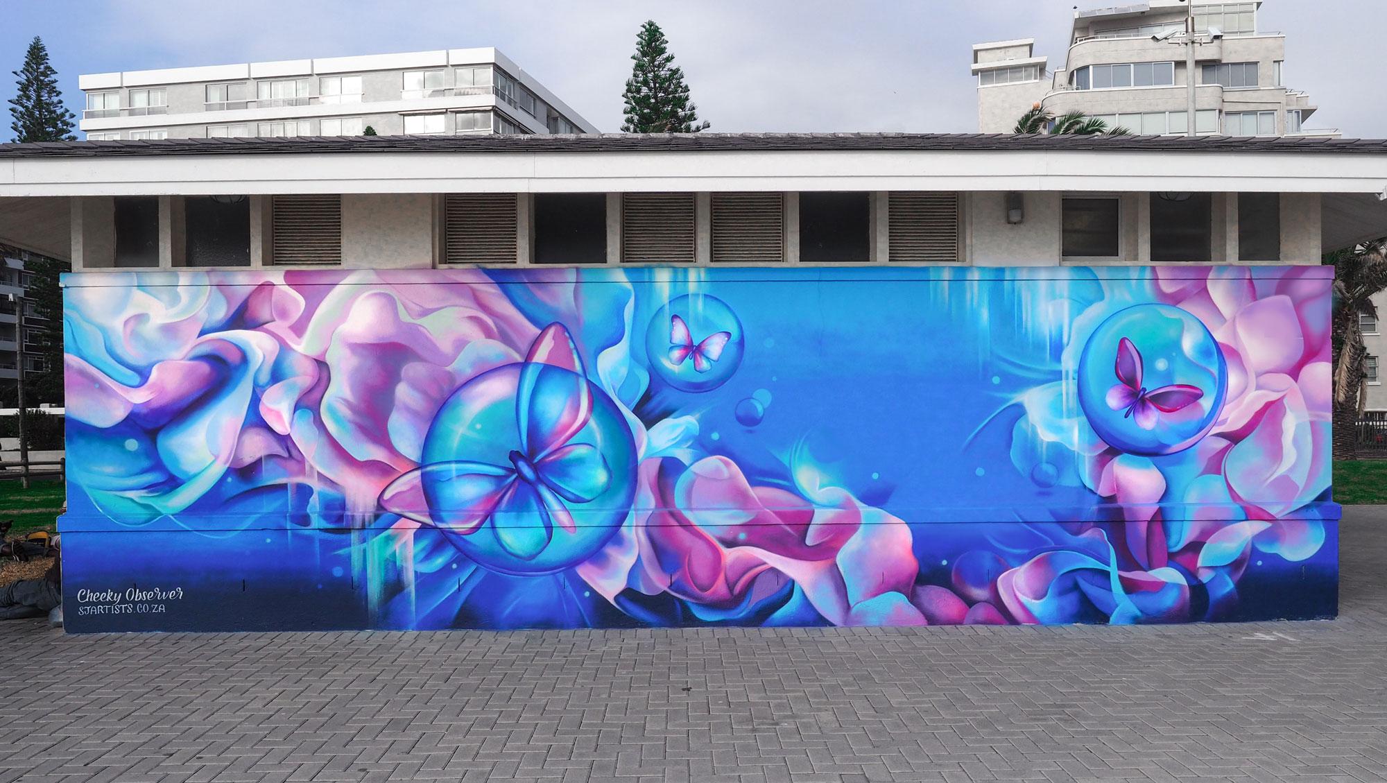 Cheeky Observer Street Art